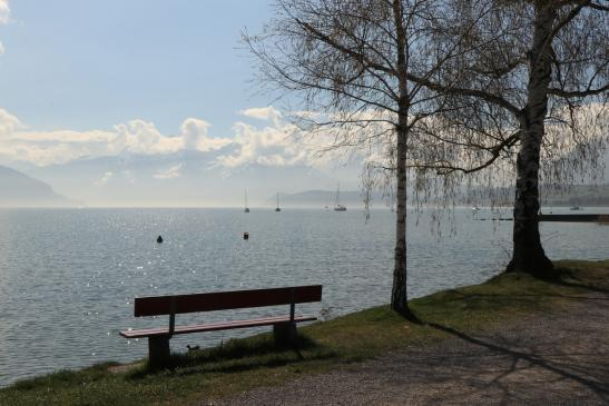 Thunersee Strandweg 17.April 2019